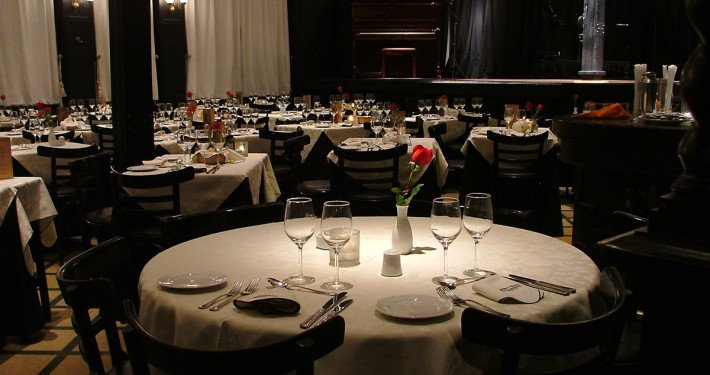 restaurante de tango